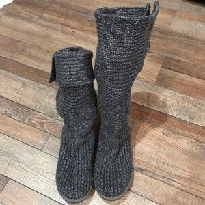 Knitted gray UGGS size 11